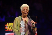 Dionne Warwick accepts the Lifetime Achievement Award onstage at the 2012 MOBO awards at Echo Arena on November 3 2012 in Liverpool England