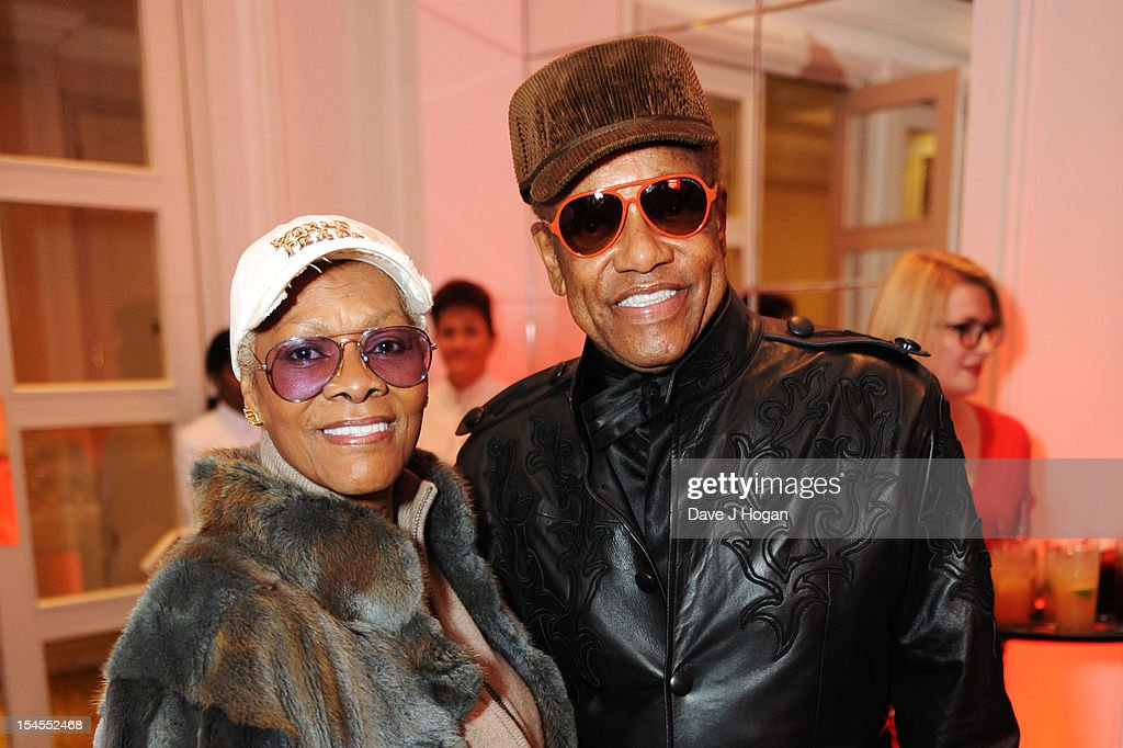 Dionne Warwick and Bobby Womack attend the Q Awards 2012 at The Grosvenor House Hotel on October 22, 2012 in London, England.