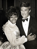 Dionne Warwick and Burt Bacharach during Performance by Dionne Warwick June 7 1968 at Pierre Hotel in New York City New York United States