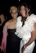 Dionne Warwick and Natalie Cole wearing Chopard jewelry