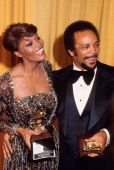 Dionne Warwick and Quincy Jones at the Grammy Awards New York 1979