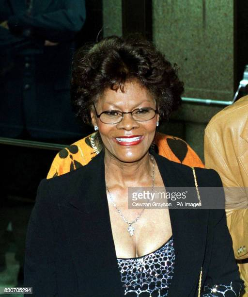 Dionne Warwick arriving for the Michael Jackson Concert at Madison Square Garden in New York City