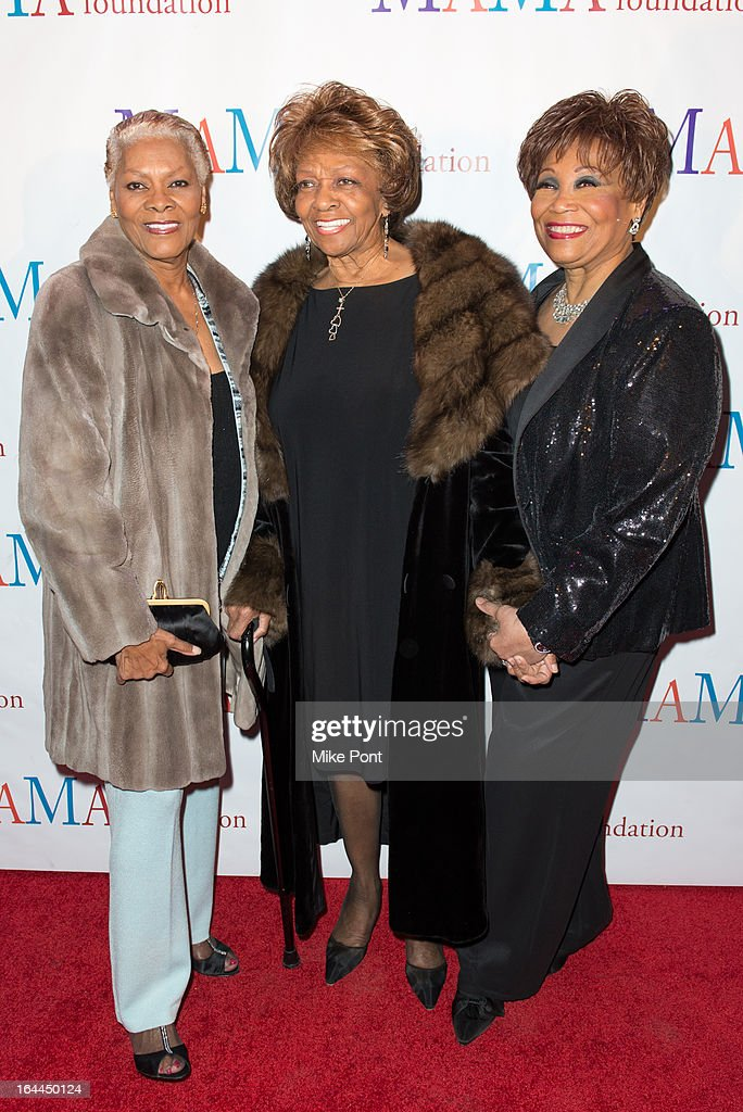 <a gi-track='captionPersonalityLinkClicked' href=/galleries/search?phrase=Dionne+Warwick&family=editorial&specificpeople=213111 ng-click='$event.stopPropagation()'>Dionne Warwick</a>, <a gi-track='captionPersonalityLinkClicked' href=/galleries/search?phrase=Cissy+Houston&family=editorial&specificpeople=1019962 ng-click='$event.stopPropagation()'>Cissy Houston</a> and Vy Higginsen attend 'Mama I Want To Sing' 30th Anniversary Gala Celebration at The Dempsey Theatre on March 23, 2013 in New York City.