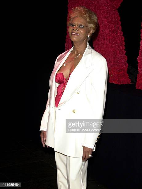Dionne Warwick during 2003 Whitney Museum of American Art Gala Celebrating Ellsworth Kelly's 80th Birthday at Whitney Museum of American Art in New...