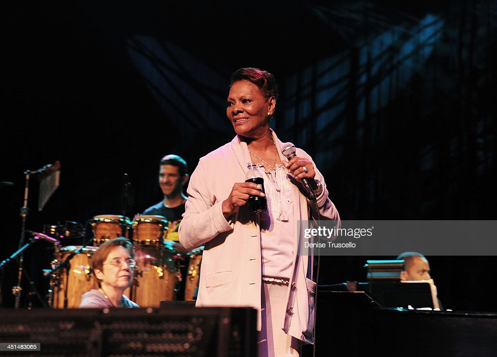 Dionne Warwick during sound check at Eric Floyd's Grand Divas of Stage at the Las Vegas Hilton on May 21, 2010 in Las Vegas, Nevada.