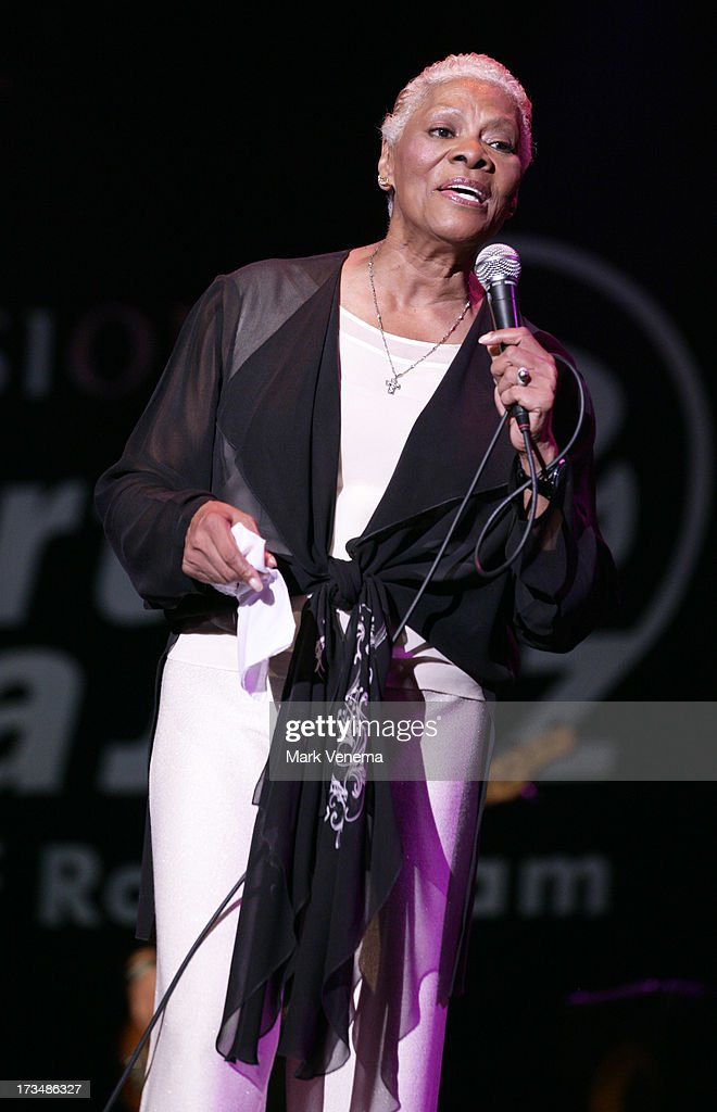 <a gi-track='captionPersonalityLinkClicked' href=/galleries/search?phrase=Dionne+Warwick&family=editorial&specificpeople=213111 ng-click='$event.stopPropagation()'>Dionne Warwick</a> performs at Day 3 of the North Sea Jazz Festival at Ahoy on July 14, 2013 in Rotterdam, Netherlands.