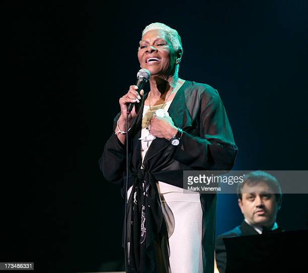 Dionne Warwick performs at Day 3 of the North Sea Jazz Festival at Ahoy on July 14 2013 in Rotterdam Netherlands