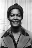 Dionne Warwick portrait London 27th November 1973
