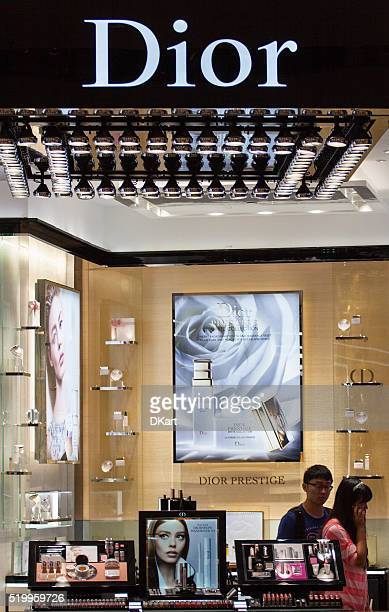 Dior magasin de maquillage à Hong Kong