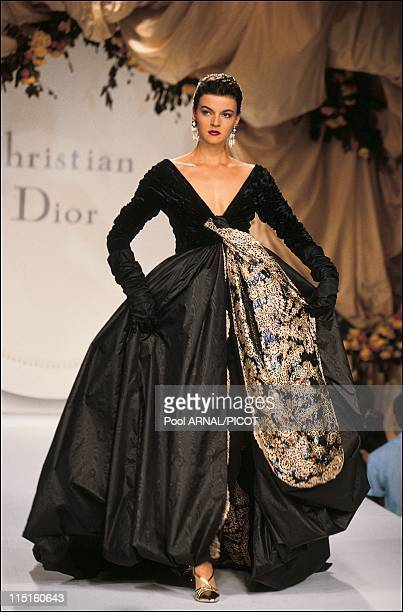 Dior Haute Couture Fall Winter 9091 show in France in July 1990
