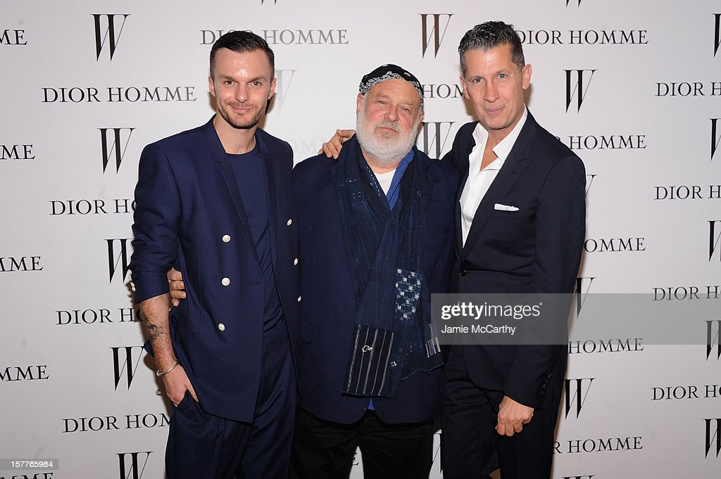Dior Homme Creative Director Kris Van Assche, <a gi-track='captionPersonalityLinkClicked' href=/galleries/search?phrase=Bruce+Weber+-+Photographer&family=editorial&specificpeople=206240 ng-click='$event.stopPropagation()'>Bruce Weber</a> and <a gi-track='captionPersonalityLinkClicked' href=/galleries/search?phrase=Stefano+Tonchi&family=editorial&specificpeople=2497117 ng-click='$event.stopPropagation()'>Stefano Tonchi</a> attend the World Premiere of <a gi-track='captionPersonalityLinkClicked' href=/galleries/search?phrase=Bruce+Weber+-+Photographer&family=editorial&specificpeople=206240 ng-click='$event.stopPropagation()'>Bruce Weber</a>'s Film 'CAN I MAKE THE MUSIC FLY' hosted by DIOR Homme's Kris Van Assche, <a gi-track='captionPersonalityLinkClicked' href=/galleries/search?phrase=Bruce+Weber+-+Photographer&family=editorial&specificpeople=206240 ng-click='$event.stopPropagation()'>Bruce Weber</a>, & W Magazine's <a gi-track='captionPersonalityLinkClicked' href=/galleries/search?phrase=Stefano+Tonchi&family=editorial&specificpeople=2497117 ng-click='$event.stopPropagation()'>Stefano Tonchi</a> in Celebration of The New Dior Homme Miami Boutique at The Moore Building on December 5, 2012 in Miami, Florida.