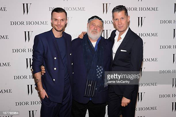 Dior Homme Creative Director Kris Van Assche Bruce Weber and Stefano Tonchi attend the World Premiere of Bruce Weber's Film 'CAN I MAKE THE MUSIC...