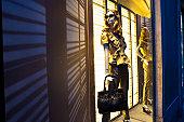 Dior shop window on Via dei Condotti.