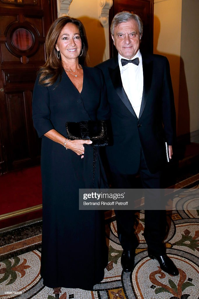 Dior Sidney Toledano and his wife Katia attend the Ballet National de Paris Opening Season Gala at Opera Garnier on September 24, 2015 in Paris, France.