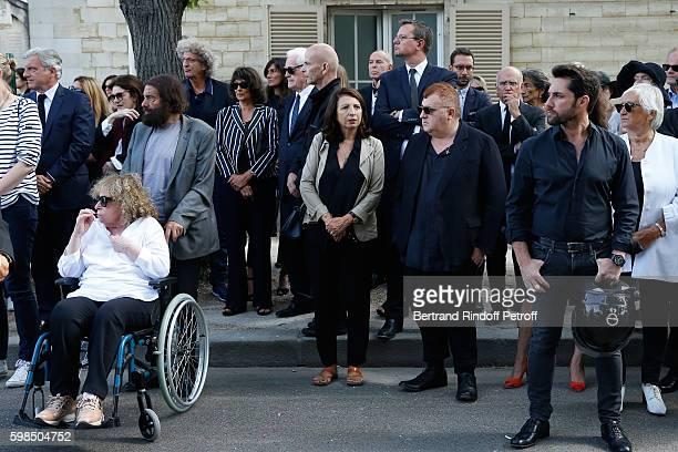 CEO Dior Sidney Toledano Anouk Aimee Marek Halter his wife Clara Halter director Elie Chouraqui Lionel Jospin his wife Sylviane Agacinski Hania...