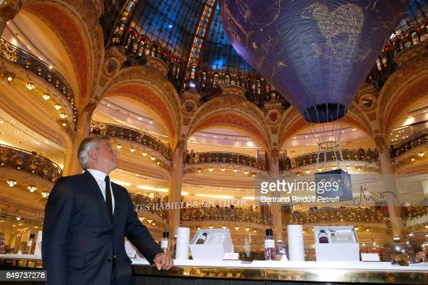 Dior Sidney Toledano attends Christian Dior celebrates 70 Years of Creation at the Galeries Lafayette Haussmann on September 19 2017 in Paris France