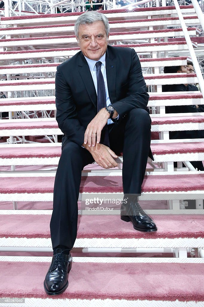 Dior Sidney Toledano attends the Christian Dior show as part of Paris Fashion Week Haute Couture Spring/Summer 2015 on January 26, 2015 in Paris, France.