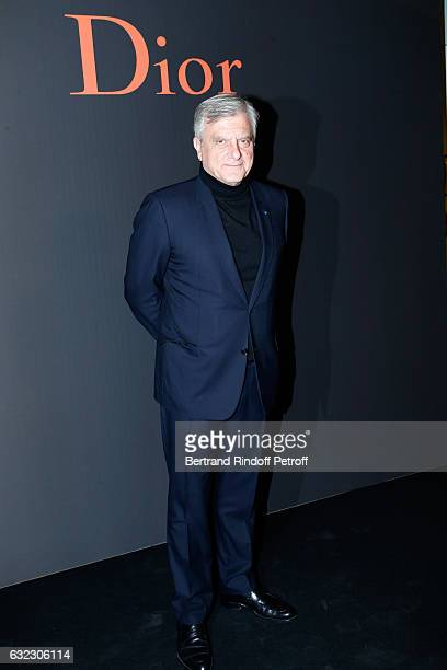 Dior Sidney Toledano attends the Dior Homme Menswear Fall/Winter 20172018 show as part of Paris Fashion Week on January 21 2017 in Paris France