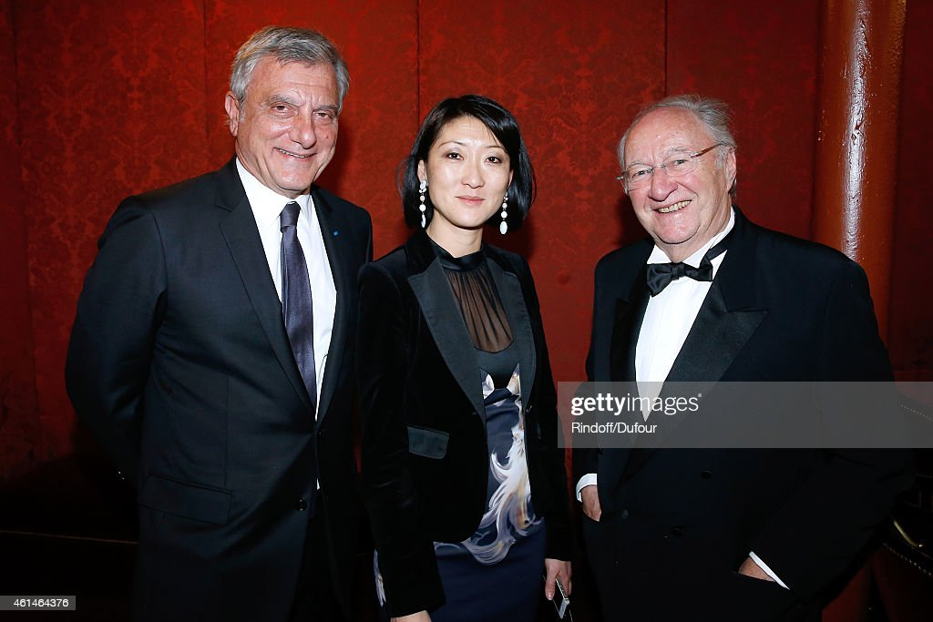 CEO Dior <a gi-track='captionPersonalityLinkClicked' href=/galleries/search?phrase=Sidney+Toledano&family=editorial&specificpeople=758670 ng-click='$event.stopPropagation()'>Sidney Toledano</a>, French minister of Culture and Communication <a gi-track='captionPersonalityLinkClicked' href=/galleries/search?phrase=Fleur+Pellerin&family=editorial&specificpeople=8784076 ng-click='$event.stopPropagation()'>Fleur Pellerin</a> and Guest attend Weizmann Institute celebrates its 40 Anniversary at Opera Garnier in Paris on January 12, 2015 in Paris, France.