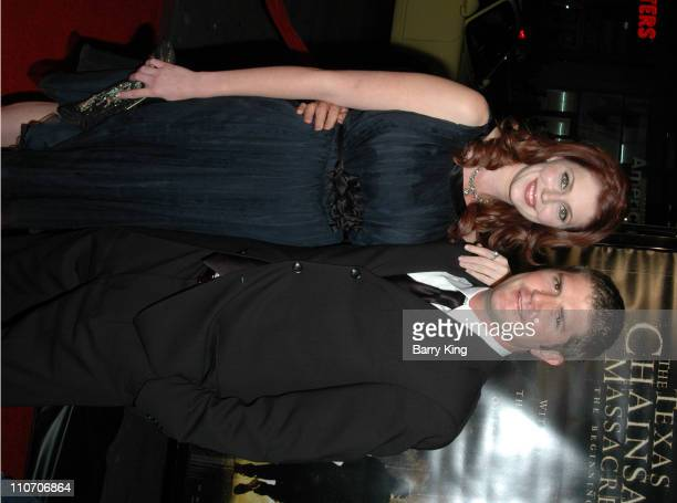 Diora Baird and Jonathan Liebesman director during 'The Texas Chainsaw Massacre The Beginning' Los Angeles Premiere Arrivals at Grauman's Chinese...