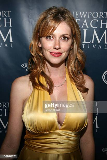 Diora Baird during 2006 Newport Beach Film Festival Opening Night Gala at Fashion Island Bloomingdales Courtyard in Newport Beach California United...