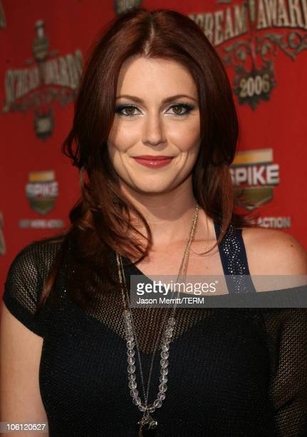 Diora Baird during Spike TV's 'Scream Awards 2006' Red Carpet at Pantages Theater in Hollywood California United States