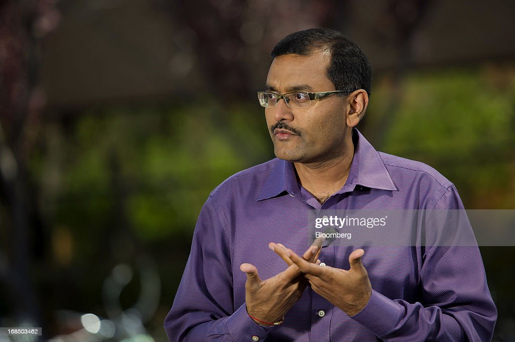 Dipchand 'Deep' Nishar, senior vice president products at LinkedIn Corp., speaks during a Bloomberg West television interview outside of the company's headquarters in Mountain View, California, U.S., on Thursday, May 9, 2013. The business-oriented network, which is celebrating its 10th anniversary, reported that revenue for the first-quarter of 2103 was $324.7 million, up from $188.5 million in the first quarter of 2012. Photographer: David Paul Morris/Bloomberg via Getty Images