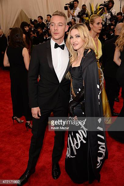 Diplo and Madonna attend the 'China Through The Looking Glass' Costume Institute Benefit Gala at Metropolitan Museum of Art on May 4 2015 in New York...