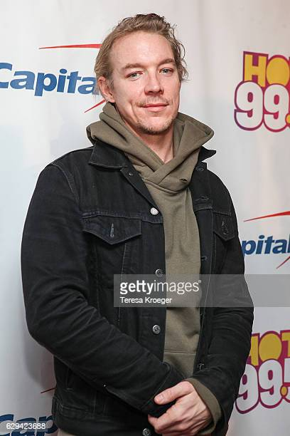 Diplo arrives at Hot 995's Jingle Ball 2016 at Verizon Center on December 12 2016 in Washington DC