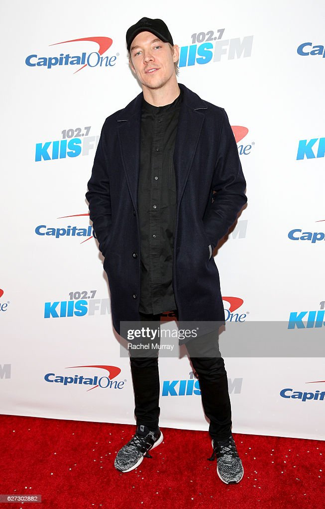 Diplo attends 102.7 KIIS FM's Jingle Ball 2016 presented by Capital One at Staples Center on December 2, 2016 in Los Angeles, California.