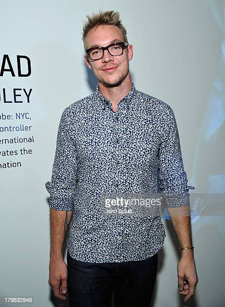 Diplo attends 'Blow Your Head' interactive art exhibition by Diplo and photographer Shane McCauley at Sonos Studio on September 4 2013 in Los Angeles...