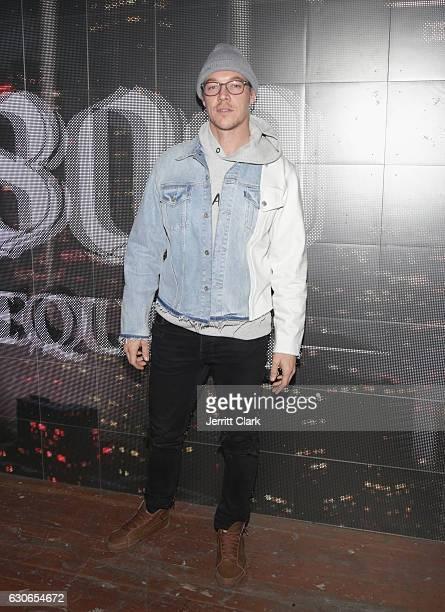 Diplo attends Slim Jxmmi Of Rae Sremmurd 25th Birthday Bash at Think Tank Gallery on December 28 2016 in Los Angeles California