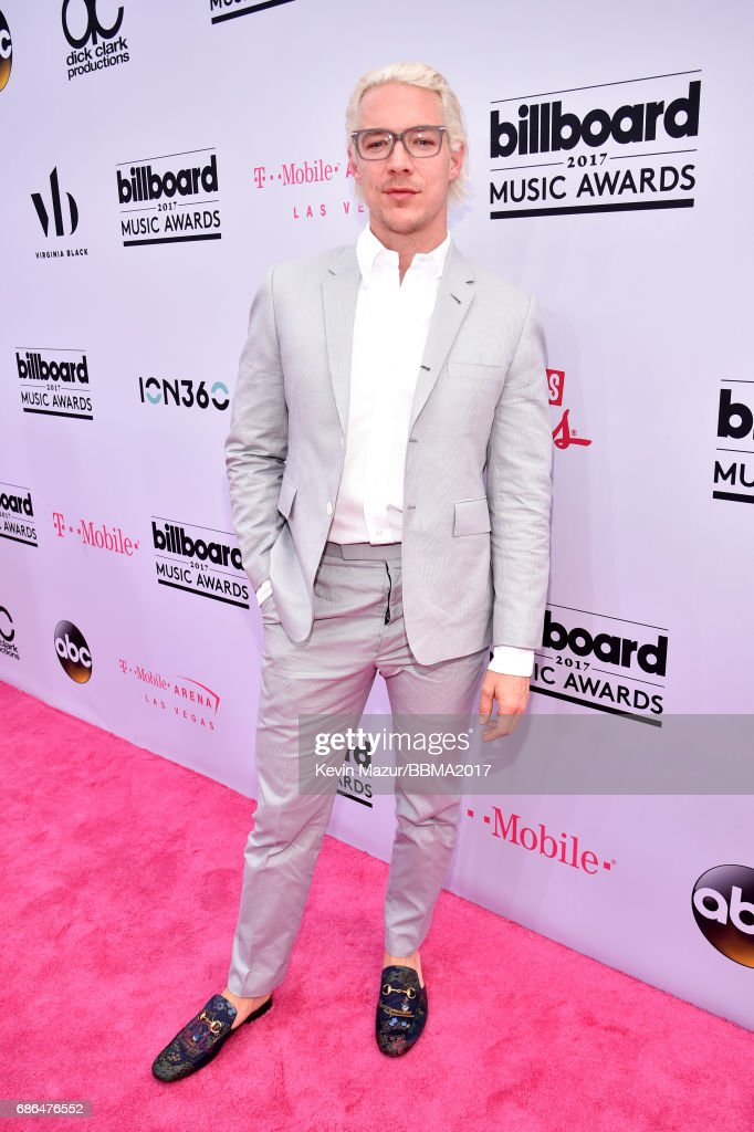 DJ Diplo attends the 2017 Billboard Music Awards at T-Mobile Arena on May 21, 2017 in Las Vegas, Nevada.