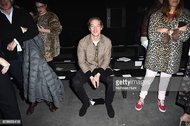 Diplo attends the Coach 75th Anniversary Women's PreFall and Men's Fall Show Front Row on December 8 2016 in New York City
