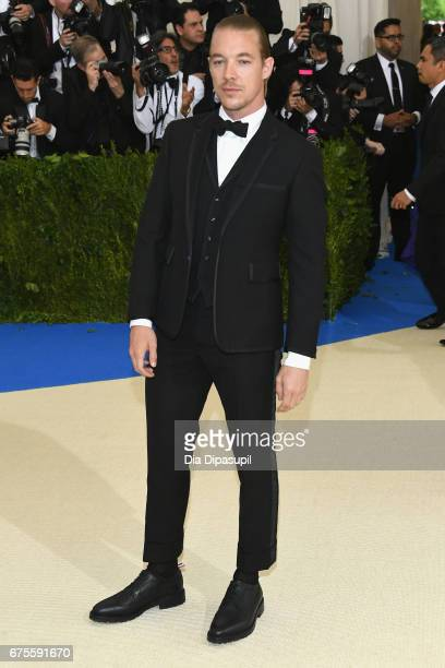Diplo attends the 'Rei Kawakubo/Comme des Garcons Art Of The InBetween' Costume Institute Gala at Metropolitan Museum of Art on May 1 2017 in New...