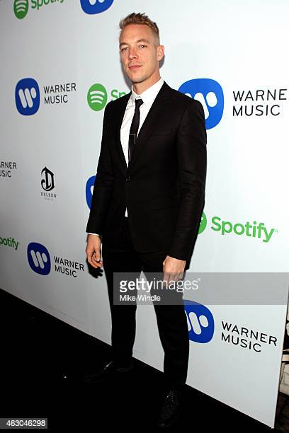 Diplo attends the Warner Music Group annual Grammy celebration at Chateau Marmont on February 8 2015 in Los Angeles California
