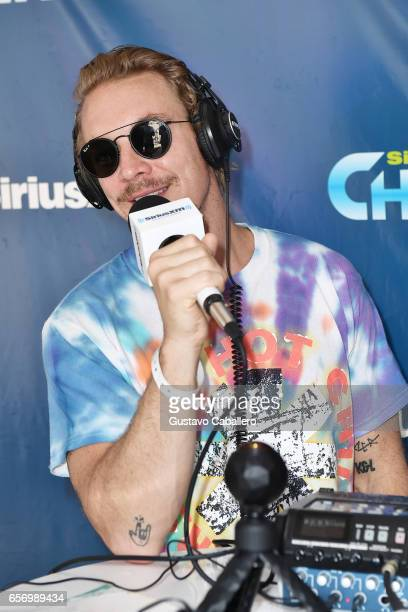 Diplo is interviewed at the SiriusXM Music Lounge at 1 Hotel South Beach on March 23 2017 in Miami Florida