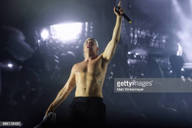 Diplo of Major Lazer performs at the Surf Stage during 2017 Hangout Music Festival on May 20 2017 in Gulf Shores Alabama