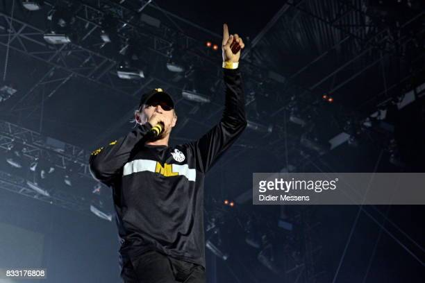 Diplo of Major Lazer performs during Day 6 of Sziget Festival on August 14 2017 in Budapest Hungary