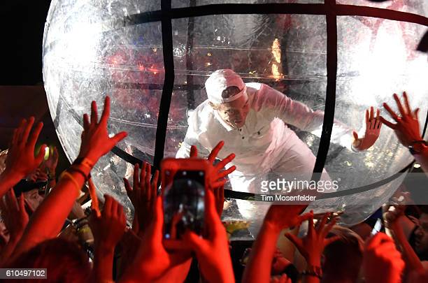 Diplo of Major Lazer performs during the 2016 Life is Beautiful festival on September 25 2016 in Las Vegas Nevada