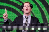 Diplo of Major Lazer performs on stage during North Coast Music Festival at Union Park on September 3 2011 in Chicago United States
