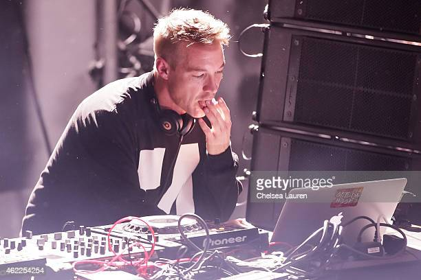 Diplo performs at Billboard Winterfest at Park City Live on January 25 2015 in Park City Utah