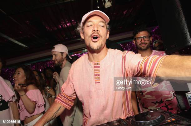 Diplo performs onstage during the DailyMailcom NYC Boat Party hosted by Swish Beverages for White Girl Rose on July 8 2017 in New York City