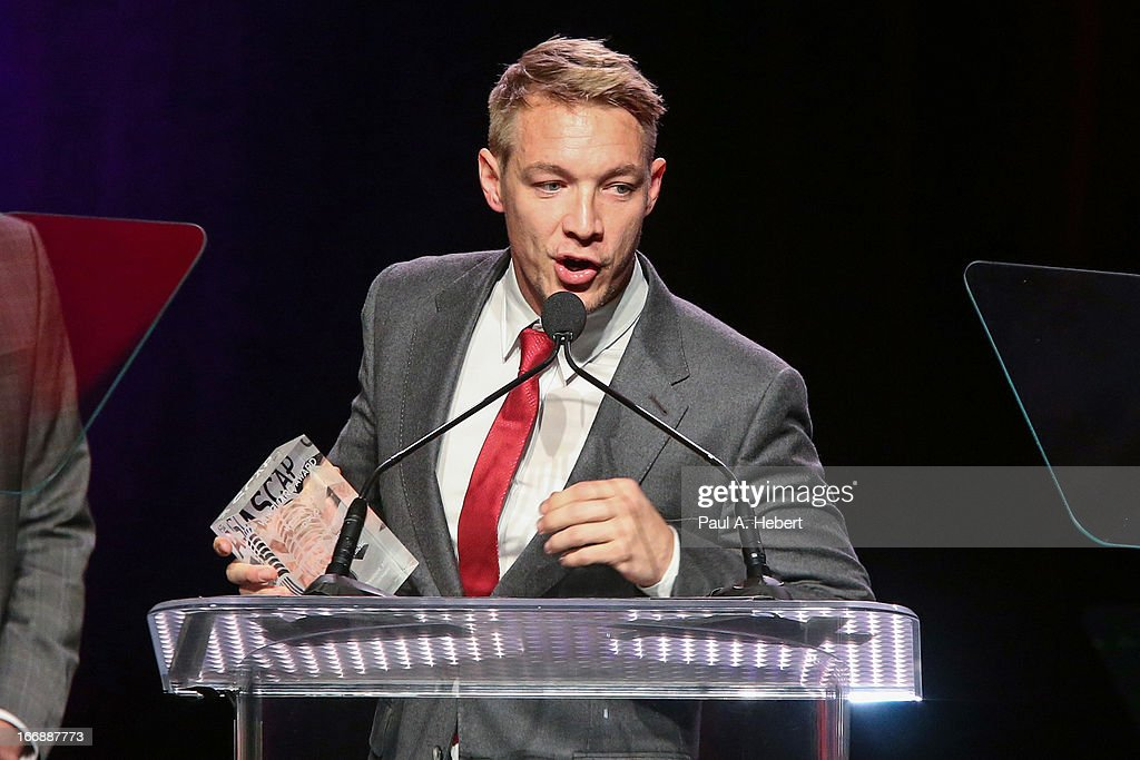 <a gi-track='captionPersonalityLinkClicked' href=/galleries/search?phrase=Diplo&family=editorial&specificpeople=2375691 ng-click='$event.stopPropagation()'>Diplo</a> receives the ASCAR Vanguard Award on stage during the 30th Annual ASCAP Pop Music Awards at Loews Hollywood Hotel on April 17, 2013 in Hollywood, California.