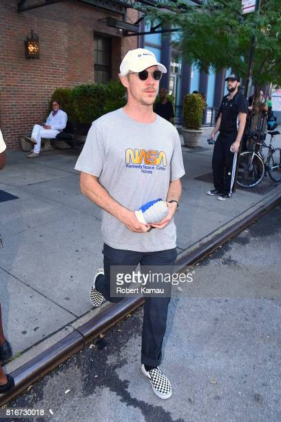 Diplo seen out in Manhattan on July 17 2017 in New York City