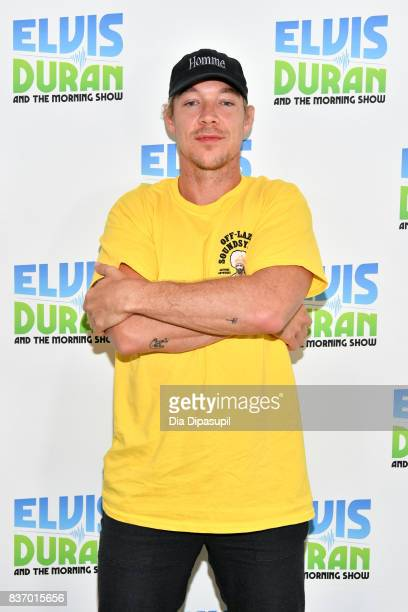 Diplo visits 'The Elvis Duran Z100 Morning Show' at Z100 Studio on August 22 2017 in New York City
