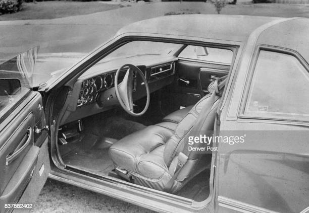 Diplomat Medallion Test Car Had Leather Upholstery A $20790 Option Insulation in the roof body panels and floor pan minimize road operating noise...