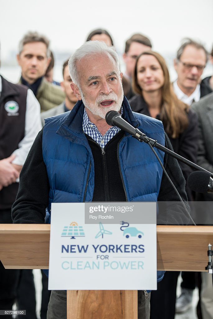 Direcrot of Solar One Chris Collins attends New Yorkers For Clean Power Campaign Launch at Solar 1 on May 2, 2016 in New York City.
