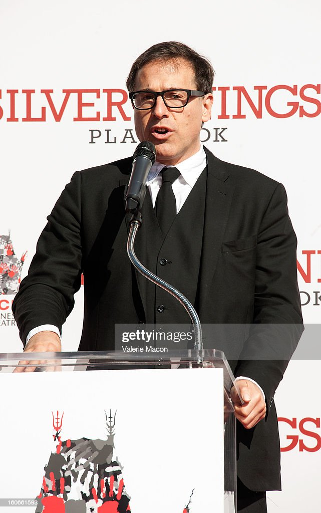 Directeur David O. Russel attends Robert De Niro Hand and Footprint Ceremony at TCL Chinese Theatre on February 4, 2013 in Hollywood, California.