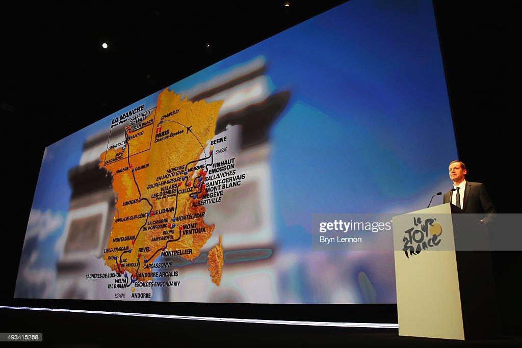 Le Tour de France 2016 Route Announcement